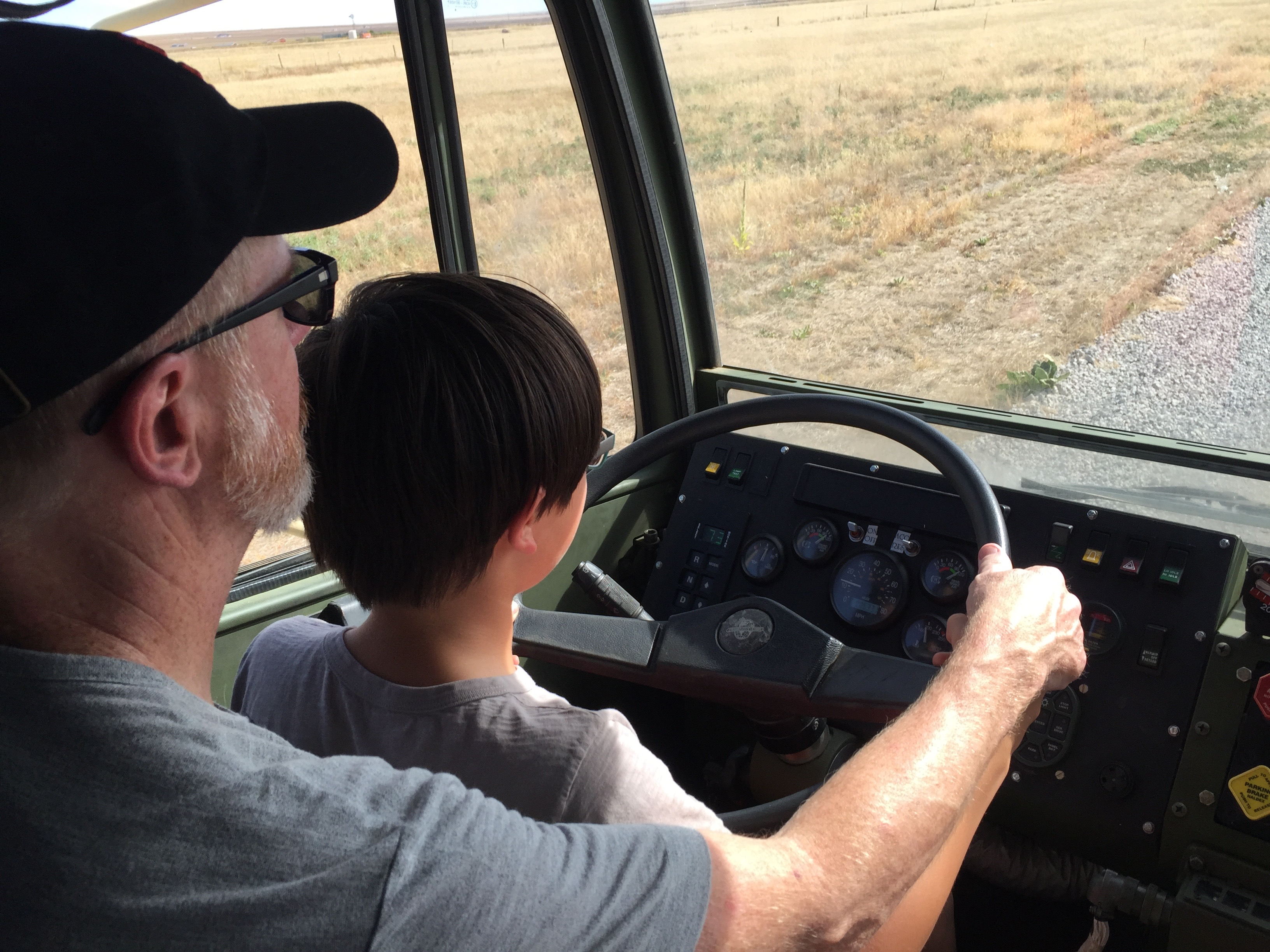 Darrell driving blissmobil